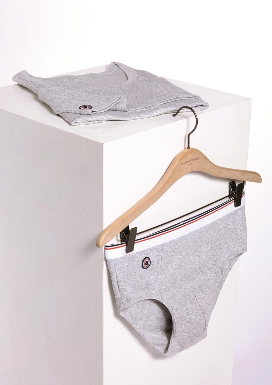 Le Slip Français Men's underwear Boxer 40 €, slip 35 €, tanktop 50 € 96% cotton, 4% elastane