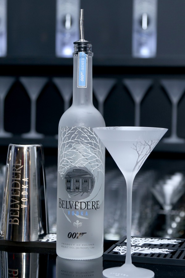 NEW YORK, NY - SEPTEMBER 09: View of atmosphere at Belvedere Vodka Celebrates Partnership with SPECTRE at One World Observatory on September 9, 2015 in New York City. (Photo by Anna Webber/Getty Images for Belvedere)